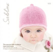 606). The second little Sublime hand knit book